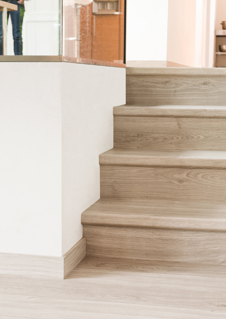 ... » How To Install Laminate On Stairs Laminate Flooring Manufactured